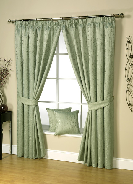 Ravalli Linden Pencil Pleat Ready Made Curtains