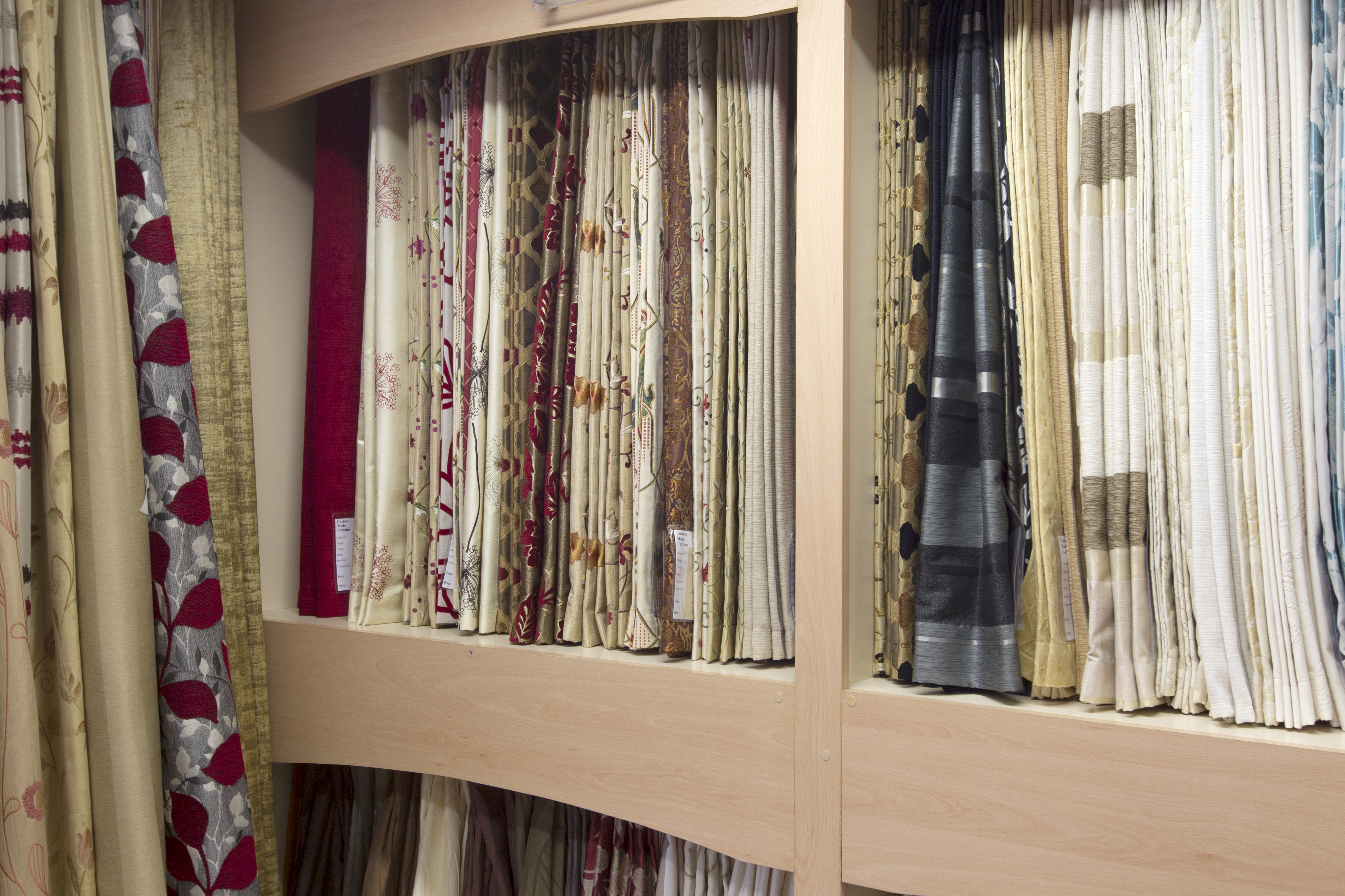 made to measure curtains show room 1